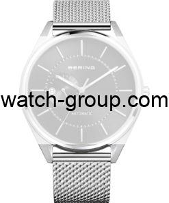 Watch strap company Bering model PT-A16243S-BMTX(S).Strap Watch  Bering 16243-077 Bering 16243-377.