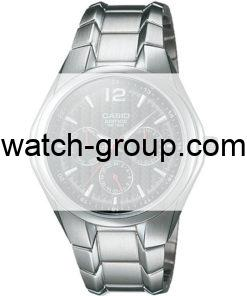 Watch strap company Casio Edifice model 10132758.Strap Watch  Casio Edifice EF-309D-1AV Casio Edifice EF-309D-2AV Casio Edifice EF-309D-7AV.