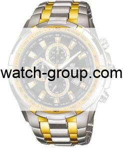 Watch strap company Casio Edifice model 10368991.Strap Watch  Casio Edifice EF-539SG-1AV.