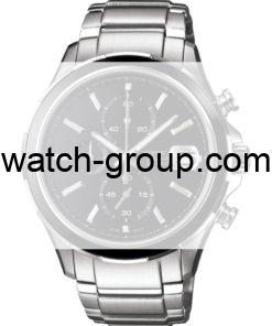 Watch strap company Casio Edifice model 10409232.Strap Watch  Casio Edifice EFB-501D-1AV Casio Edifice EFB-501D-7AV.
