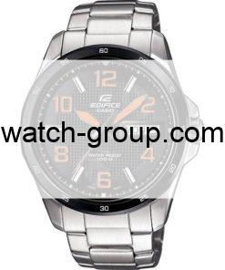Watch strap company Casio Edifice model 10428001.Strap Watch  Casio Edifice EF-132DY-1A4V Casio Edifice EF-132DY-1A7V.