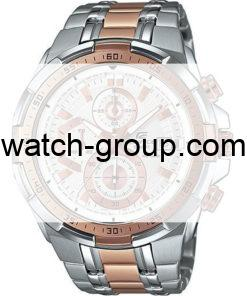 Watch strap company Casio Edifice model 10489093.Strap Watch  Casio Edifice EFR-539SG-7A5V.