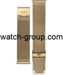 Watch strap company Cluse model CLS346.Strap Watch  Cluse CL30010 Cluse CL30012 Cluse CL60002 Cluse CL60014 Cluse CL60015 Cluse CW0101207013.