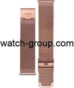 Watch strap company Cluse model CLS347.Strap Watch  Cluse CL30013 Cluse CL30016 Cluse CL40107 Cluse CL30047 Cluse CL60003 Cluse CLG006 Cluse CL60013 Cluse CLG014.