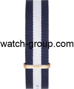 Watch strap company Daniel Wellington model DW00200004.Strap Watch  Daniel Wellington DW00100004.
