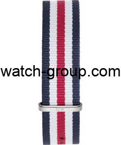 Watch strap company Daniel Wellington model DW00200016.Strap Watch  Daniel Wellington DW00100016.