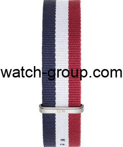 Watch strap company Daniel Wellington model DW00200017.Strap Watch  Daniel Wellington DW00100017.