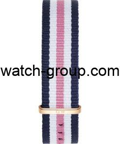 Watch strap company Daniel Wellington model DW00200034.Strap Watch  Daniel Wellington DW00100034.