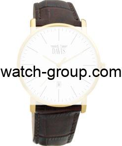 Watch strap company Davis model BB1994.22.Strap Watch  Davis Davis-1994.