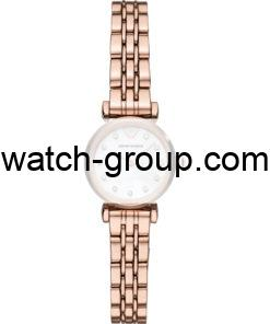 Watch strap company Emporio Armani model AAR11203.Strap Watch  Emporio Armani AR11203.