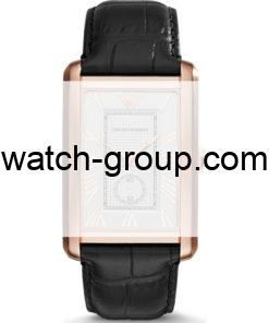Watch strap company Emporio Armani model AAR1842.Strap Watch  Emporio Armani AR1842.