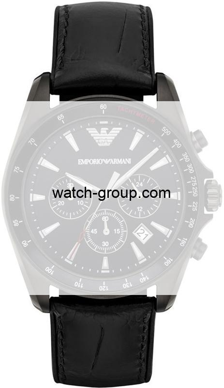 Watch strap company Emporio Armani model AAR6097.Strap Watch  Emporio Armani AR6097.
