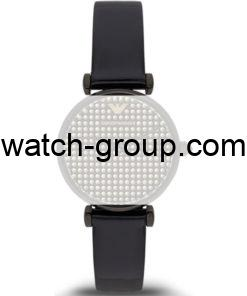 Watch strap company Emporio Armani model AAR7412.Strap Watch  Emporio Armani AR7412.