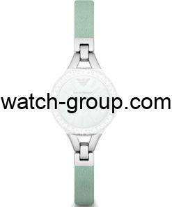 Watch strap company Emporio Armani model AAR7414.Strap Watch  Emporio Armani AR7414.