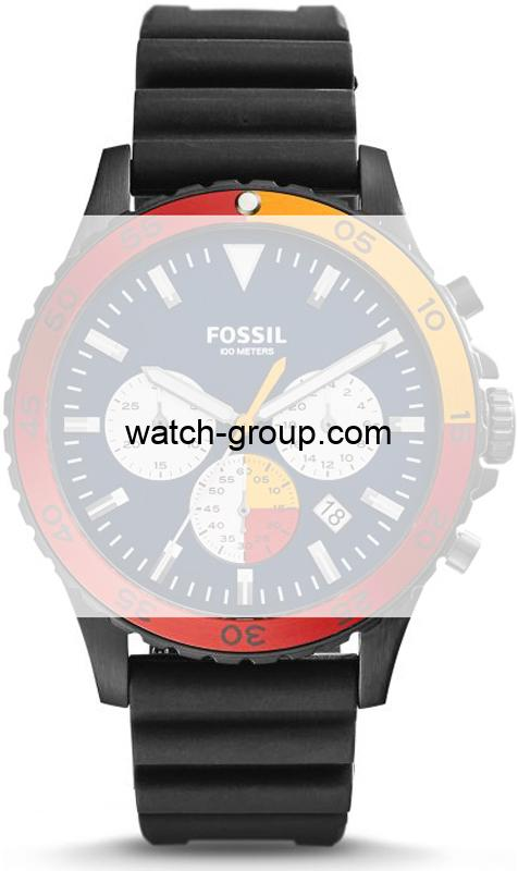Watch strap company Fossil model ACH3058.Strap Watch  Fossil CH3058 Fossil FTW1124.