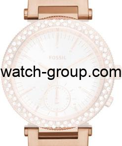 Watch strap company Fossil model AES3851. Strap Watch Fossil ES3851