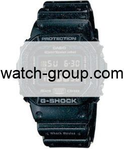 Watch strap company G-Shock model 10257098. Strap Watch G-Shock DW-5600GM-1A
