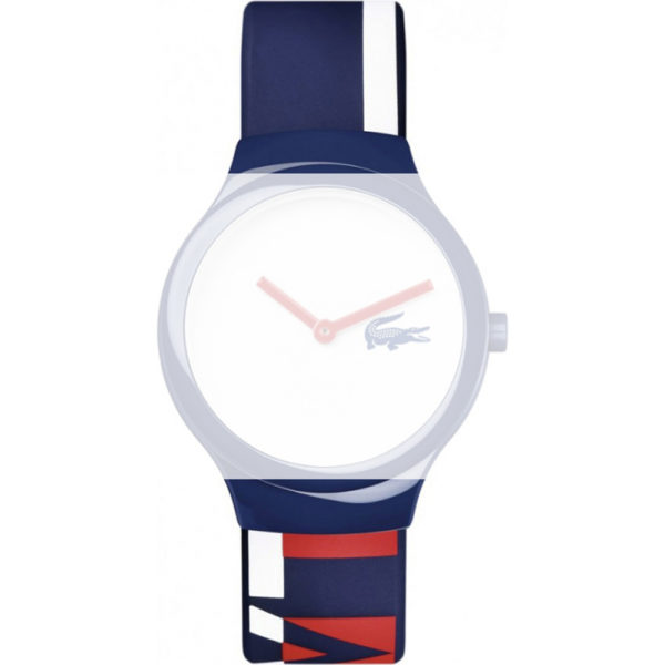 Watch strap company Lacoste model 609302874. Strap Watch Lacoste 2020128