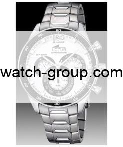 Watch strap company Lotus model BA03487. Strap Watch Lotus 10120/3