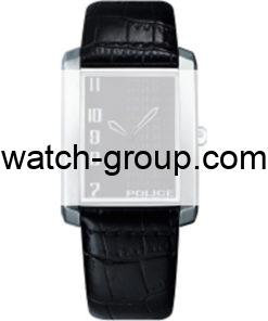 Watch strap company Police model APL.10509BS-02. Strap Watch Police 10509BS-02