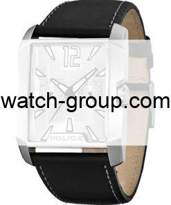 Watch strap company Police model APL.11663MS-01B. Strap Watch Police 11663MS-01B