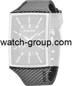 Watch strap company Police model APL.13077MPBS-02A. Strap Watch Police 13077MPBS-02A