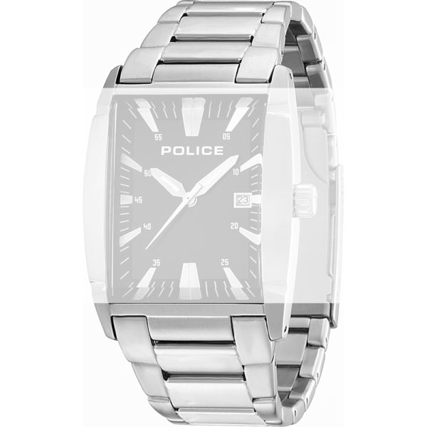 Watch strap company Police model APL.13887MS-02M. Strap Watch Police 13887MS-02M