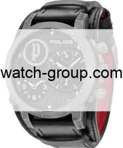 Watch strap company Police model APL.14188JSQS-02. Strap Watch Police 14188JSQS-02
