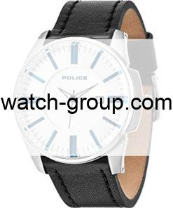 Watch strap company Police model APL.14384JS-04. Strap Watch Police 14384JS-04