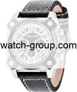 Watch strap company Police model APL.14691JSTB-02. Strap Watch Police 14691JSTB-02
