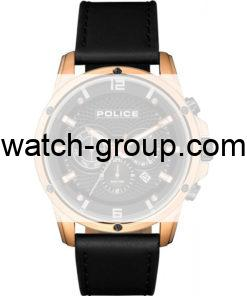 Watch strap company Police model APL.15525JSR-02. Strap Watch Police 15525JSR-02