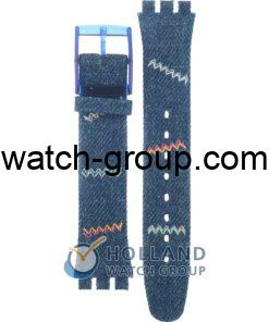 Watch strap company Swatch model AGN205. Strap Watch Swatch GN205