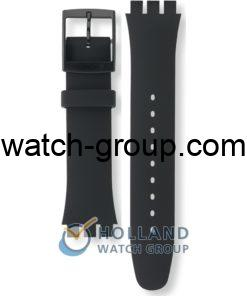 Watch strap company Swatch model ASUOB702. Strap Watch Swatch SUOB157