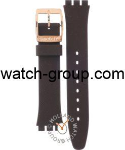 Watch strap company Swatch model AYLG701. Strap Watch Swatch YLG701