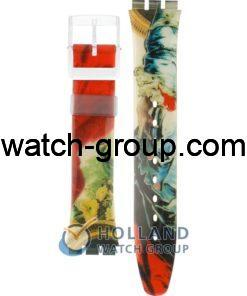 Watch strap company Swatch model AGN170. Strap Watch Swatch GN170