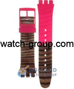 Watch strap company Swatch model ASUOP703. Strap Watch Swatch SUOP703