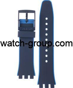 Watch strap company Swatch model ASUSN409. Strap Watch Swatch SUSN409